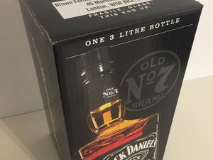 Dikste fles Jack daniels 3 liter!!!  Nieuw