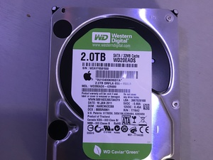 WD digital hd 2 tb geruisloos by apple