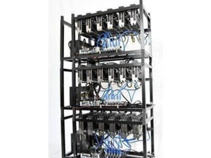 NIEUW! Ethereum miner mining rig 540 MH/s