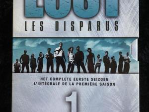 LOST seizoen 1 en 2 op DVD