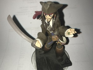 Piraat 7 cm hoog