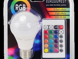Eurodomest multicolor ledlamp