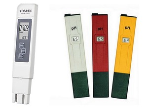 Ec & ph meter set (twee meters) voor een superprijs.!!!