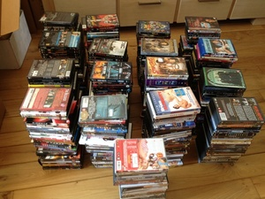 500 Orginele DVD's en Blurays