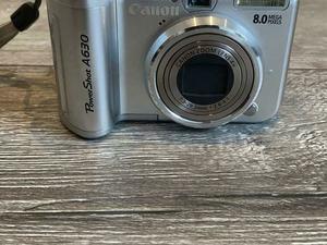 Canon PowerShot A630 8.0 megapixel incl accessoires