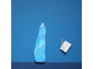 gecombineerd werk (keramiek/acryl/papier op plaat) - Linda Bouter