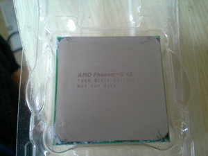 Zeldzame AMD Phenom II 42 TWKR Black Edition