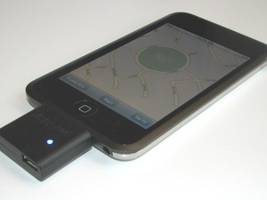 GPS adapter for iPod touch of iPhone
