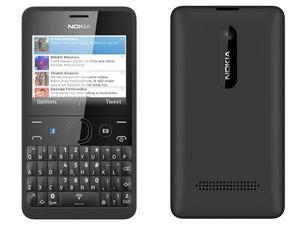 Nokia Asha 210, 1 x gebruikt zonder doos. incl lader