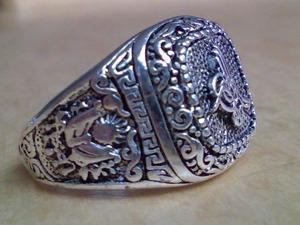 TUGRA ring - tugra ottoman osmanli arma zegel padisah
