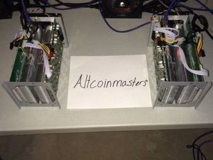 AntMiner S1 Dual Blade Bitcoin Miner