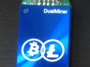 DualMiner USB 2 - Scrypt Miner 70Kh/s 2,5 Watt