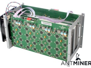 2x Antminers 200 GHs inclusief voedingen in doos
