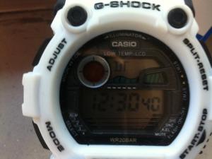 G shock witte g shock 7900 model
