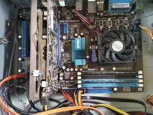 Opgeknapte computer