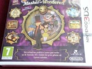 Professor Layton en het Masker der Wonderen 3DS ( geseald )