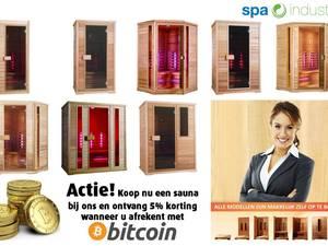 Koop nu u Spa/Jacuzzi of sauna en reken af met Bitcoins