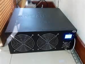 2 TH/s Bitcoin Asic Miner draaid 2000 GH/s SHA-256