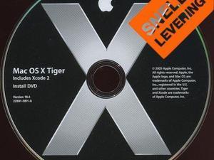 Mac OSX Tiger 10.4 PowerPC Installatie DVD, Powerbook G4 G5