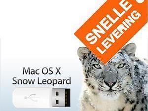 Installeer Mac OS X Snow Leopard 10.6 via USB zonder DVD!!