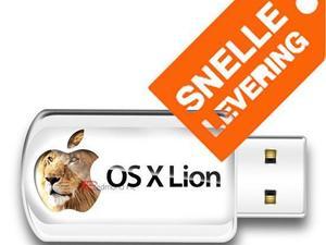 Installeer Mac OS X Lion 10.7.5 via USB Stick, OSX zonder DVD!!