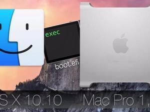 Installeer Mac OS X Yosemite 10.10.5 op een MacPro1,1/2,1