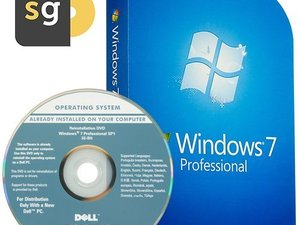 Windows 7 Professional Dell OEM Herstel/Recovery USB 32-bit